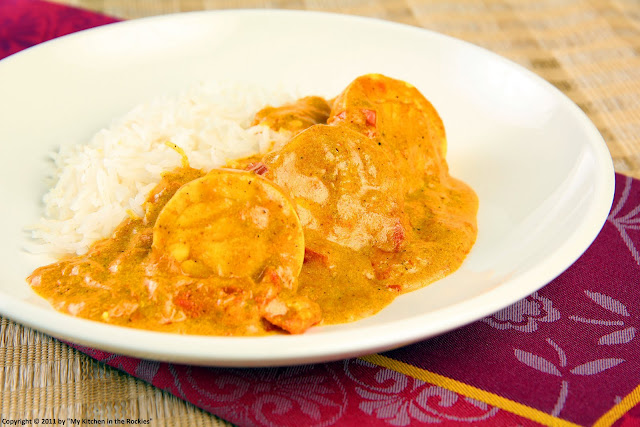 075+b Indian Egg Curry