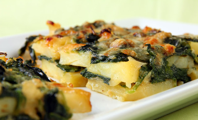 162+a Potato and Spinach Gratin