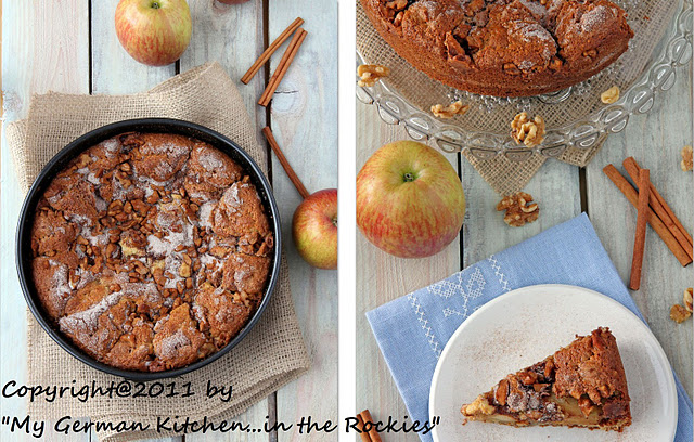 Untitled 1 Walnut Apple Cake (gluten free)