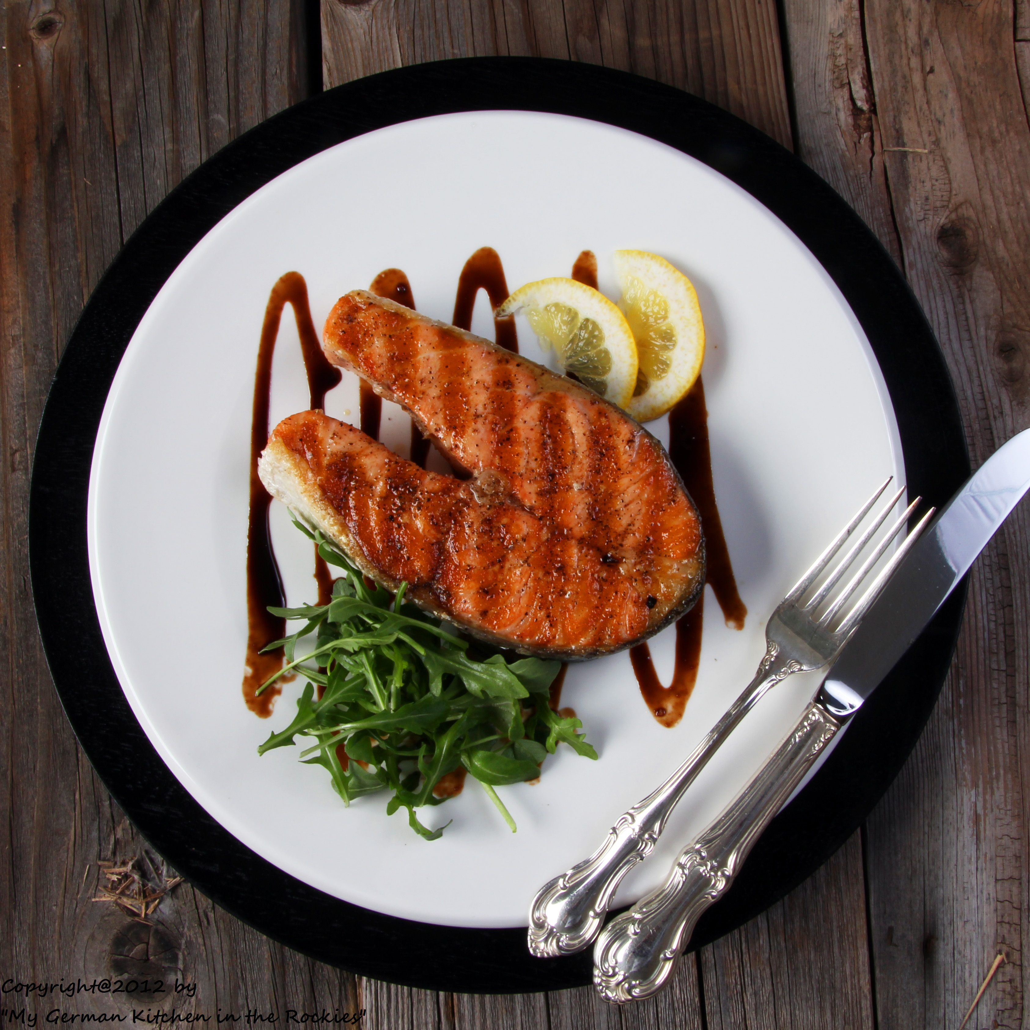 Salmon,balsamic Glaze,balsamic vinegar,sustainable fish,seafood guide ...