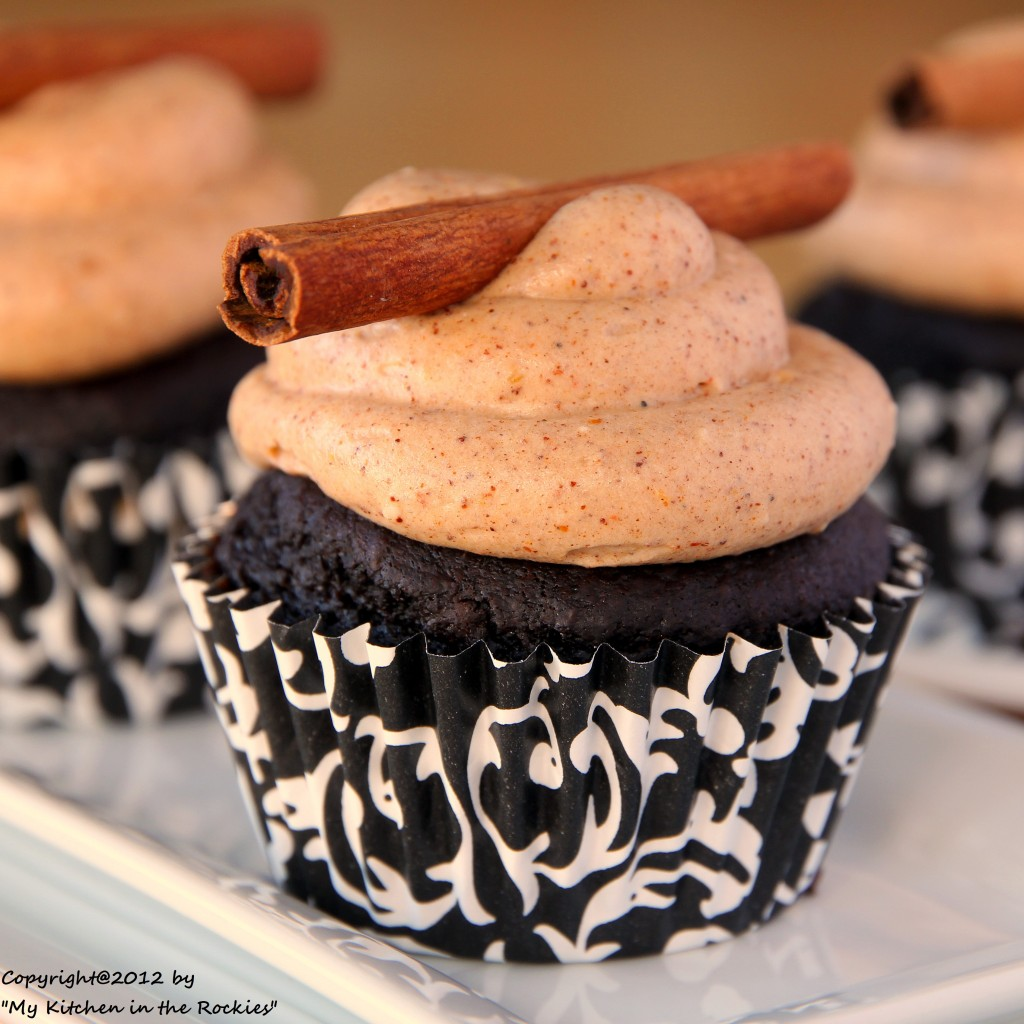 028 a 1024x1024 Celebrating two years of blogging with Spicy Chocolate Cupcakes filled with Nutella Chili Chocolate Ganache and Chili Cream Cheese Frosting