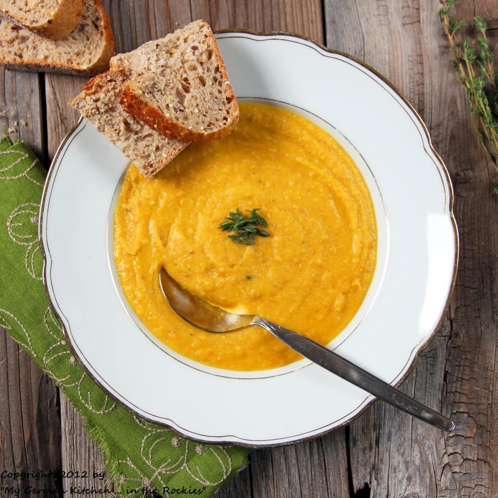 Split Pea Soup, Organic Soup, Yellow Split Pea, German Soup, German ...