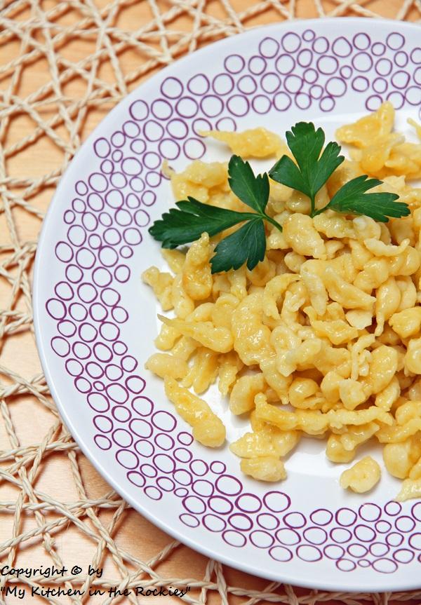 131 a 600 800 Spätzle (German Noodle Dish)