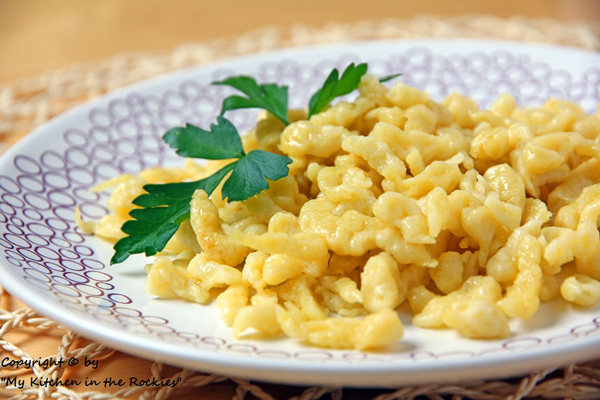 139 a 600 400 Sptzle (German Noodle Dish)
