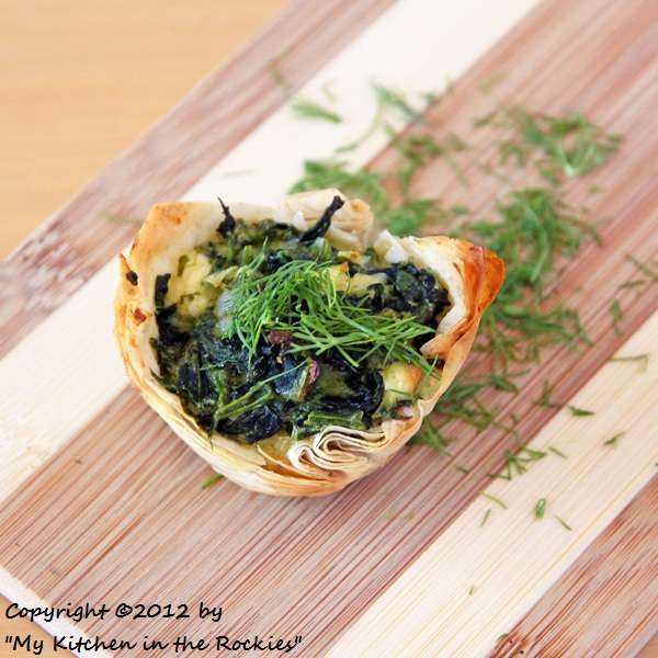 003 a 600 Spanakopita Cups Appetizer Recipe