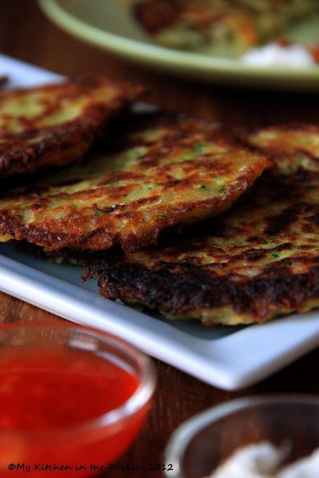 040 a 640 Guestspeaker Alice Waters and Potato Zucchini Pancakes