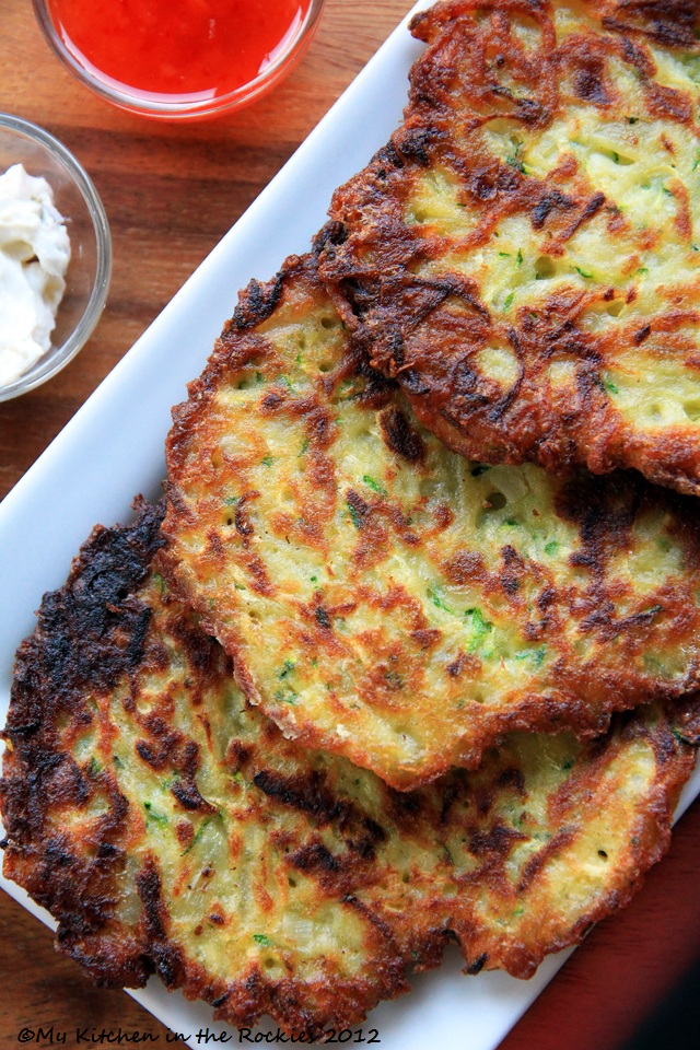 045 a 640 Guestspeaker Alice Waters and Potato Zucchini Pancakes