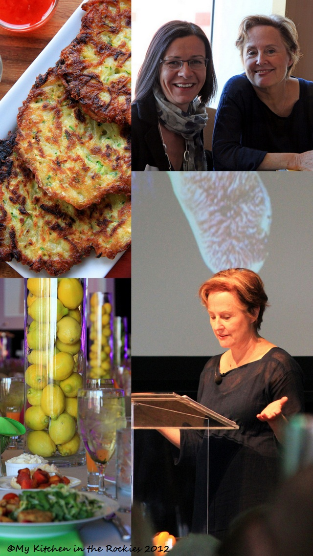 640 Guestspeaker Alice Waters and Potato Zucchini Pancakes