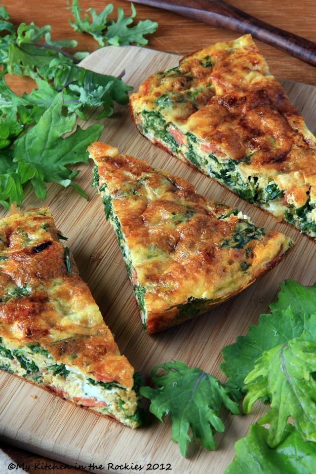 Kale FrittataA Healthy Breakfast Casserole Colorado Denver