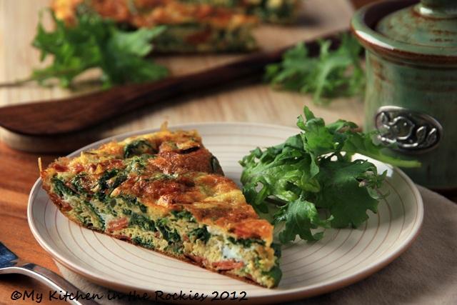 Kale Frittata1 Kale Frittata   A Healthy Breakfast Casserole