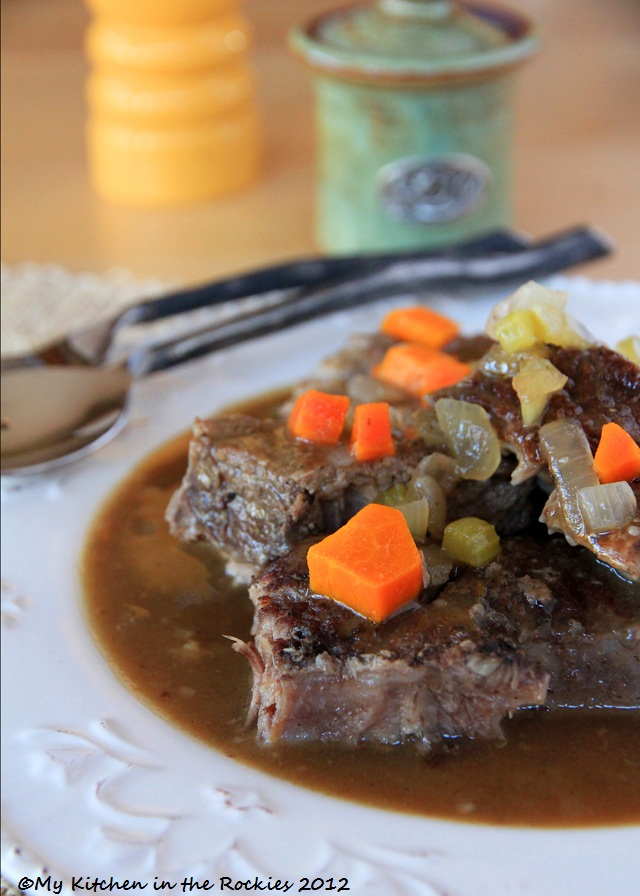 german cooking sauerbraten made with beef short ribs colorado denver foodblog german recipes my. Black Bedroom Furniture Sets. Home Design Ideas