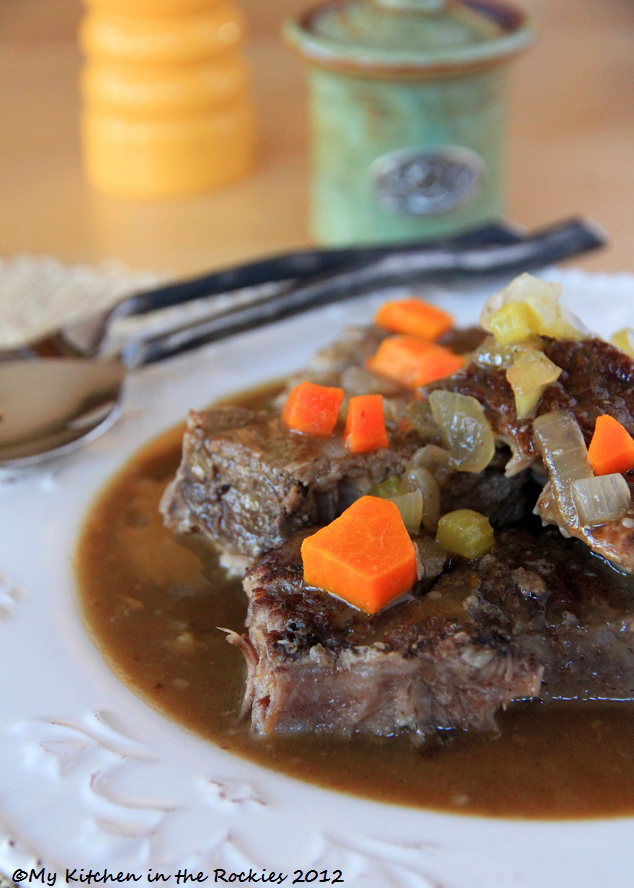 Sauerbraten with Beef Short Ribs2 Lets grab the Sauerbraten and RUN!