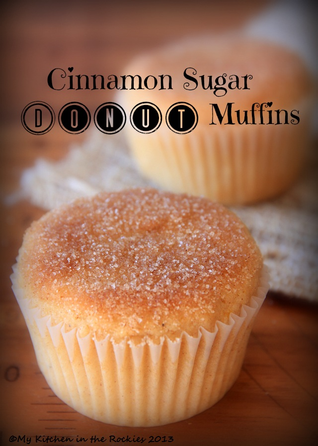 Cinnamon Sugar Donut Muffins Colorado Denver Foodblog German recipes ...
