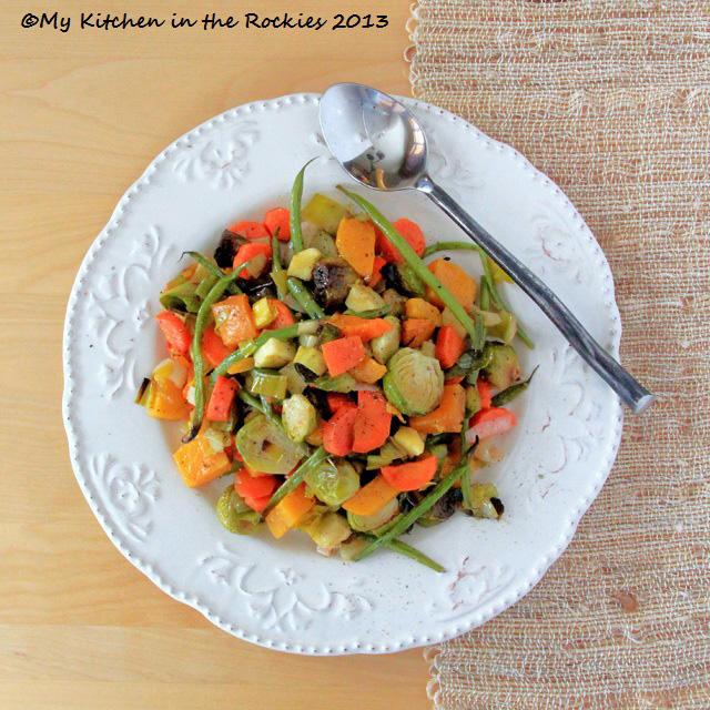 Oven Roasted Winter Vegetables