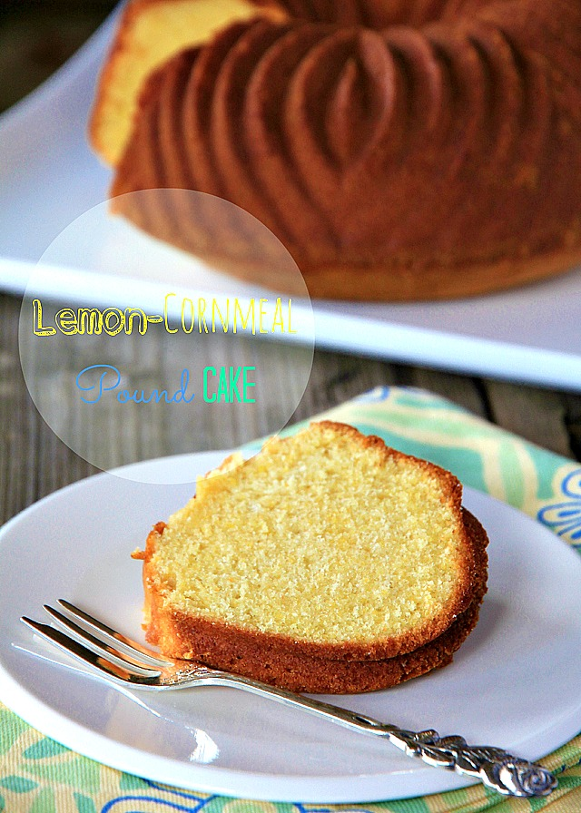 Lemon-Cornmeal Pound Cake