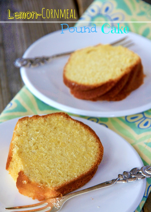 German Lemon Pound Cake