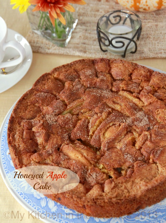 Honeyed Apple Cake