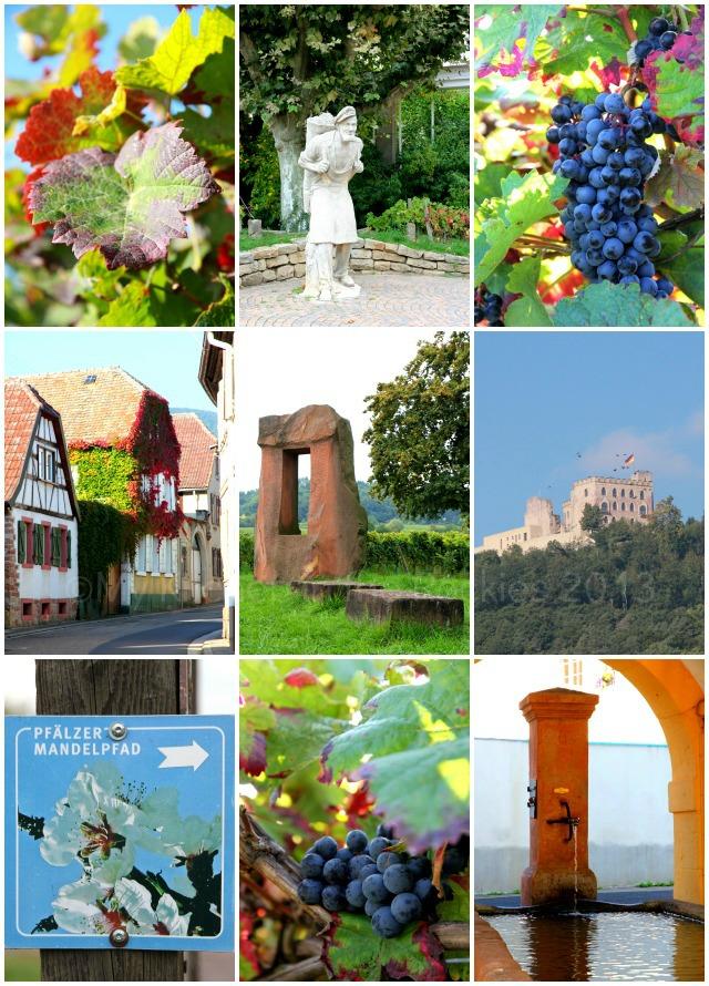 Weinstrasse a Collage