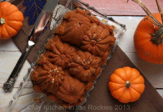 Spiced Pumpkin Bread with Walnuts