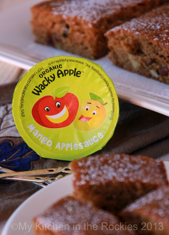 Apple Sauce Cake