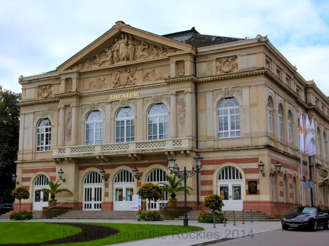 Theater, Baden Baden