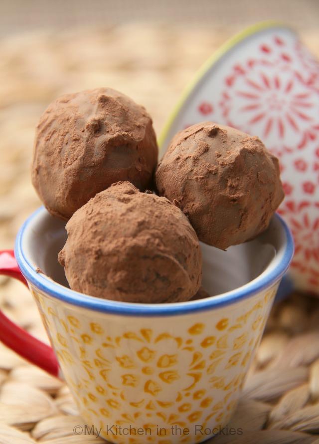 Chocolate Port Truffles