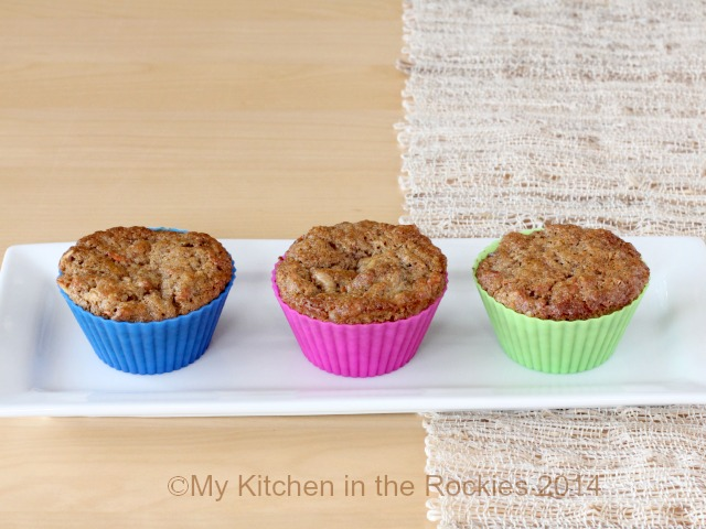 Carrot Muffins with Walnuts