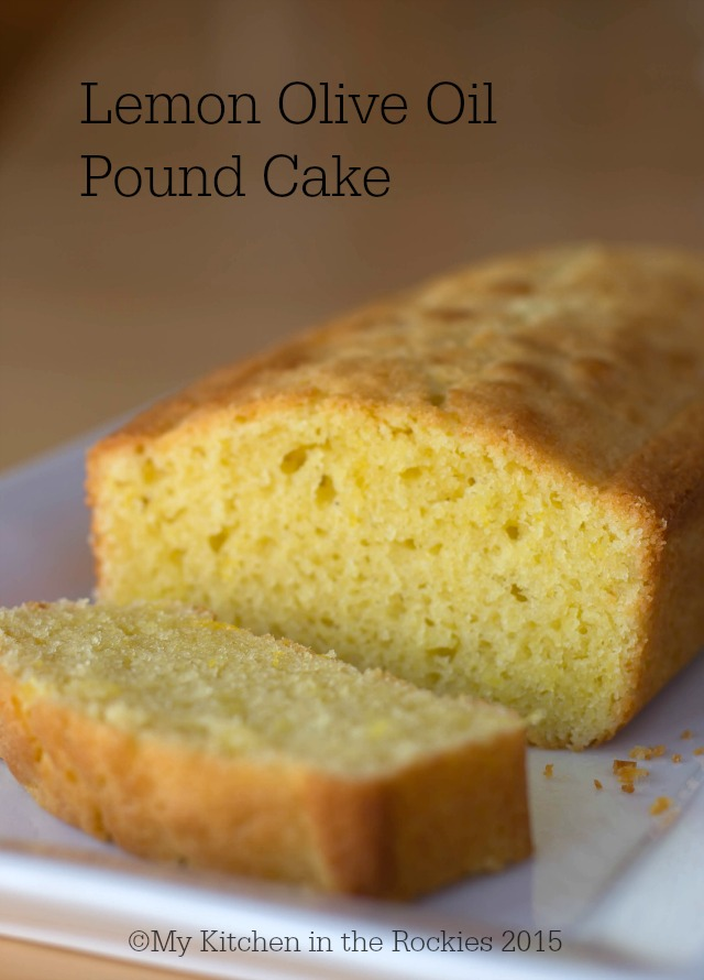 Lemon Olive Oil Pound Cake