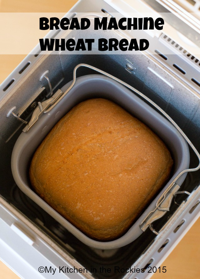 Bread Machine Wheat Bread