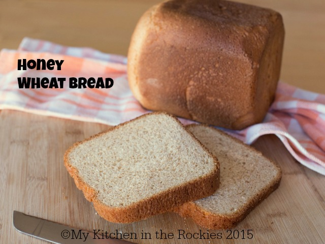Wheat Bread with Honey