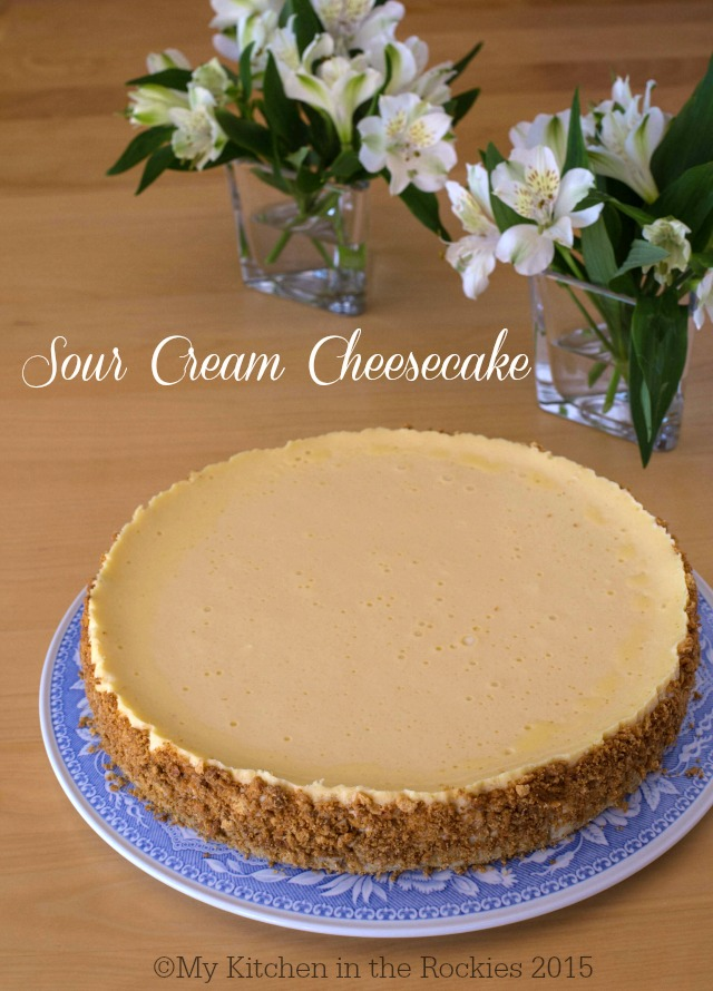 Perfect Sour Cream Cheesecake