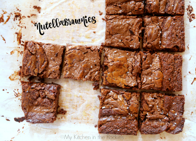 Nutella Brownies 1