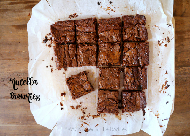 Nutella Brownies 2